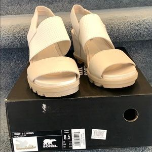 Sorel Joanie II Slingback Wedge Sandals